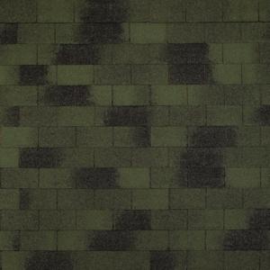 Гибкая черепица TOP SHINGLE «Винтаж» зелёныйTOP SHINGLE Винтаж