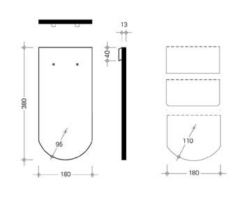 Схема Опал керамической черепицы